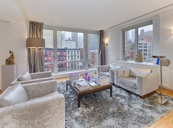 Attention Investors Purchase this Condo with a Corporate 7 month tenant lease in place, with an Option for Second Year. Located in Bridge Tower Place Condominium. This Open Flow Layout Home has Been Custom Designed and Renovated. Only one other apartment on this floor. Ultimate in Contemporary Living. This home features a dual entrance pass thru windowed Chef's Kitchen with Granite Counters, Stainless Steel Appliances, Frankie Sink, Custom Canadian Cabinets, Pull out Pantry and Plenty of Counter and Cabinet Space that opens into both the spacious Media and Dining Rooms. There is a separate home office/play Room and huge Living Room with Floor to Ceiling Windows and City Views. Other features of the unit are South, West and North exposures with city views. Double Paned Floor to Ceiling Windows offers quiet relaxation, wide plank custom hand scraped maple flooring, Zoned Climate Control Systems and A Washer and  Dryer. The Lobby, Roof Sun Deck, Children's Playroom and Gym been Renovated. Bridge Tower is a Full-Service Building with Bike Room, and on site Garage. One block from Equinox, nearby Top Restaurants Sushi Seki, Felidia. Bed Bath Beyond and Starbucks in building. Don't miss this outstanding opportunity. 24 hrs. notice required for an appointment.