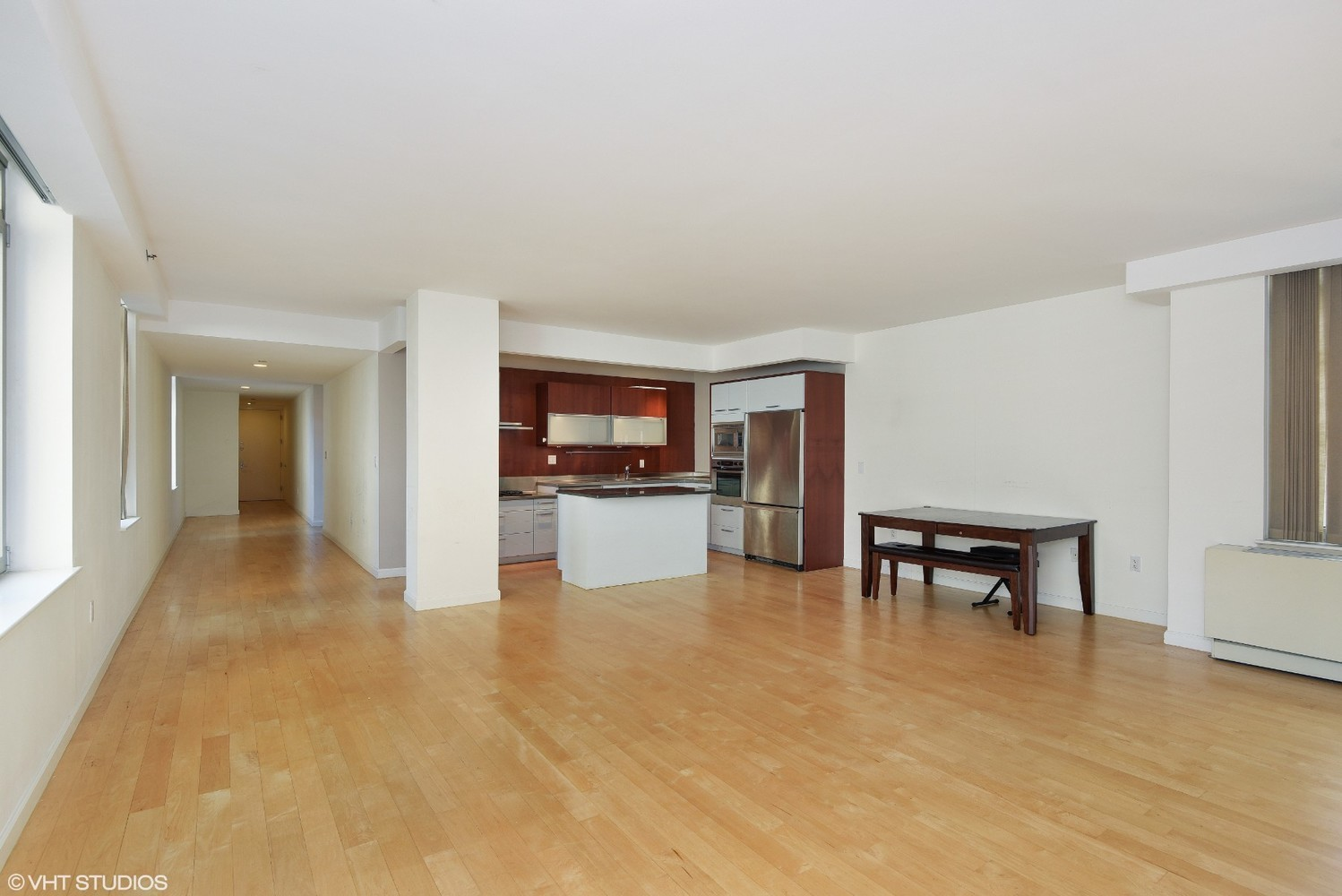 Rare offering of a 2,000+ sq ft sprawling 3 Bedroom / 2.5 Bath home with triple exposures in a prime location of Chelsea. Net rent advertised, landlord offering 1 month free on a 12-month lease. Gross rent is $10,900. This beautiful and tranquil apartment with maple wood flooring has an open kitchen with premium fixtures and appliances, wine fridge, and kitchen island. All the bedrooms are generously sized facing south and the marbled master bathroom contains double vanities, separate shower, and deep soaking tub. In addition, there is also a personal washer/dryer, 4 large closets, and 2 additional linen closets.The Campiello Collection is a boutique condominium with only 31 exclusive homes, full-time doorperson, fitness gym, courtyard, and roof deck. Pets allowed case by case.The Campiello Collection is a boutique condominium with only 31 exclusive homes, full-time doorperson, fitness gym, courtyard, and roof deck. Pets allowed case by case.Viewings by appointment only. State health guidelines will be followed.
